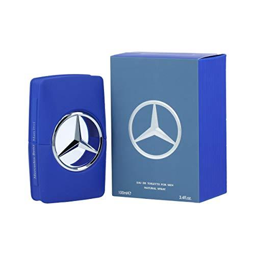 Mercedes Benz Blue Cologne by Mercedes Benz, 3.4 oz EDT Spray for Men (Mercedes Benz Cologne For Men)