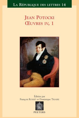 Jean Potocki [Pdf/ePub] eBook