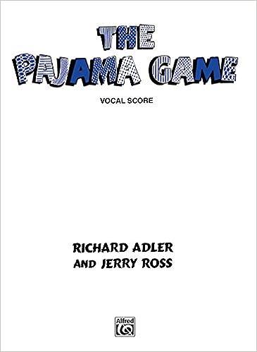Book The Pajama Game (Vocal Score)