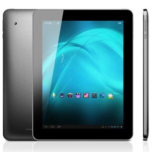Panda Pad Novo9 Spark Quad Core A31 Tablet PC 9.7 Inch Android 4.1 (Jelly Bean) Retina IPS Screen 2G RAM 16G ROM 4K Video HDMI Black Dual Camera 2048 x 1536px Super Slim Altra Thin Debut, Best Gadgets