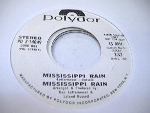 MISSISSIPPI RAIN 45 RPM Mississippi Rain / - Malls Mississippi