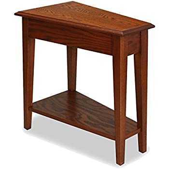 oak side tables ikea dining and chairs uk this item recliner wedge end table medium used for sale