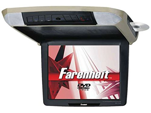 Farenheit MD-1050CMM 10.2-Inch Ceiling Mount DVD Entertainment System with Motorized (Farenheit Wireless Headphones)