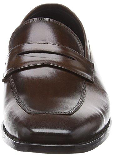 Dune Philipe, Mocassini Uomo Brown (Brown Leather)