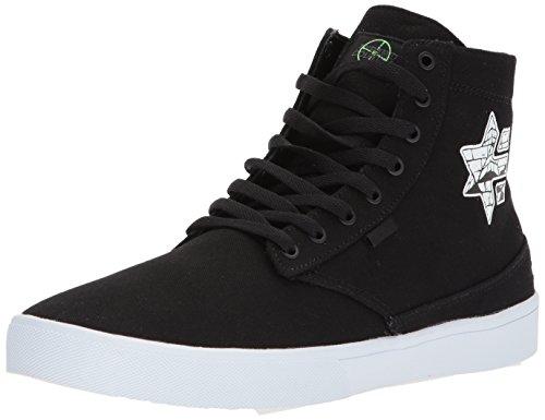 Jameson Hommes Etnies Ht X Pyramide Chaussure De Skate Pays, Gomme Noir Noir Noir / Blanc / Gomme
