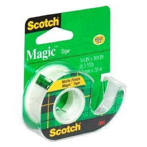 Scotch Magic Tape with Dispenser, 3/4