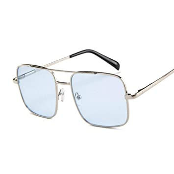 Gafas De Sol Luxury Flat Top Coating Ocean Gafas De Sol ...