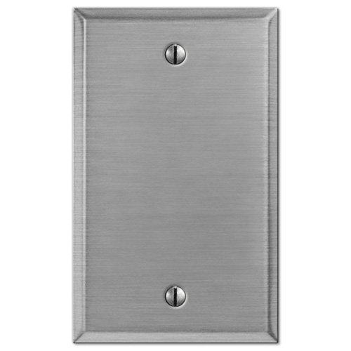 Creative Accents Wallplate Stamped Steel Blank 1 Gang Carded (Creative Accents Wall Plate)