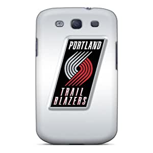Tpu Cases Covers For Galaxy S3 Strong Protect Cases - Portland Trail Blazers Design
