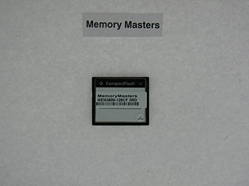 MEM3800-128CF 128MB Compact Flash for Cisco 3800 series routers(MemoryMasters)