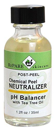 Chemical Neutralizer - Post Peel Neutralizer - Adjusts Skins pH after TCA, Glycolic, Jessners, Salicylic & Lactic Acid Peels (1.2 fl oz / 35 ml)