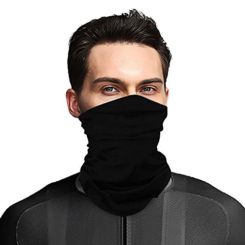 MOSTEP Neck Gaiter, Headwear Bandana, Face Sun Mask- Elastic Seamless Headband, Tube mask Scarf, Balaclava, Sweatband for Fishing, Hunting, Hiking, Running, Riding, Motorcycling(UV Resistence) ()