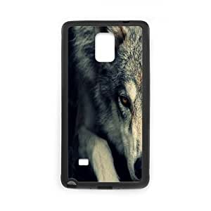 Clzpg Customized Samsung Galaxy Note4 Case - Wolf shell phone case