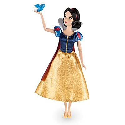"DISNEY STORE SNOW WHITE 12"" CLASSIC DOLL WITH BLUEBIRD: Toys & Games"