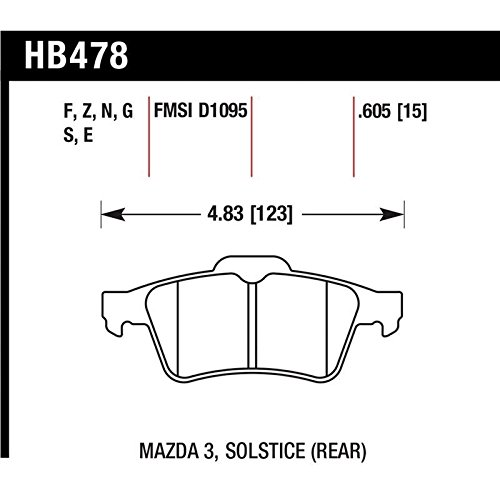Hawk 13-14 Ford Focus ST / Mazda/ Volvo Performance Ceramic
