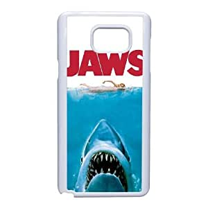 Samsung Galaxy Note 5 Phone Case White Jaws NLG7829447