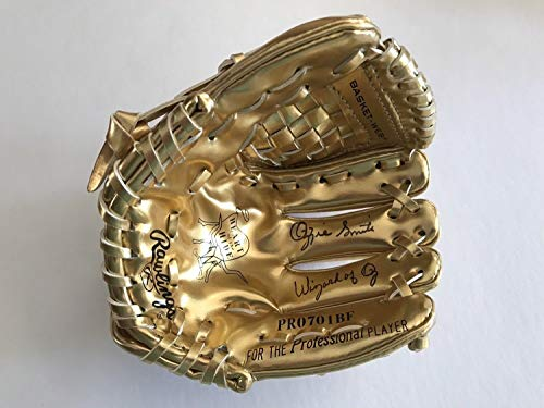 hed Signed Rawlings Gold Mini-Baseball Glove Inscribed Wizard Of Oz Memorabilia PSA/DNA ()