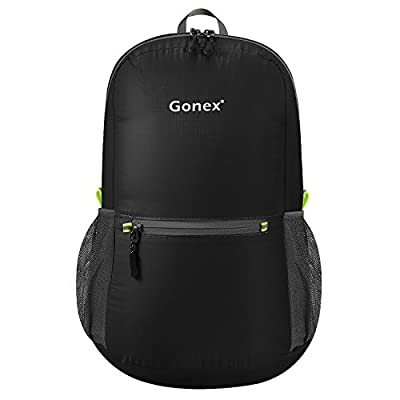 Gonex Ultra Lightweight Packable Hiking Backpack Handy Daypack for Camping Outdoor Travel Cycling School 20 Liters 8 Color Choices