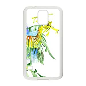 Colour Painting Syngnathus Hight Quality Plastic Case for Samsung Galaxy S5