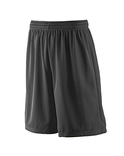 Augusta Sportswear MEN'S LONG TRICOT MESH SHORT/TRICOT LINED 3XL -