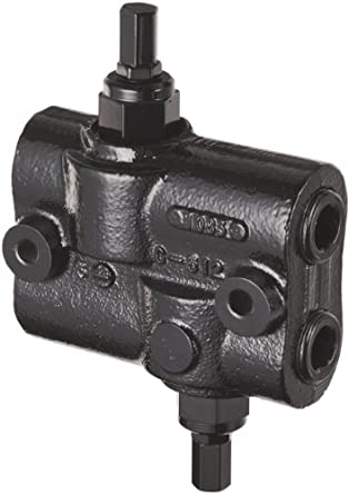 """Prince DRV-2HH Double Relief Valve, Differential Poppet, Cast Iron, 3000 psi, 30 gpm, 3/4"""" NPTF"""
