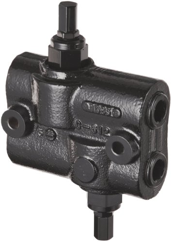 (Prince DRV-2HH Double Relief Valve, Differential Poppet, Cast Iron, 3000 psi, 30 gpm, 3/4