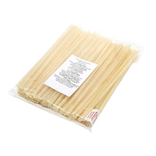 (YG Natural, Eco-Friendly, Edible Rice Drinking Straws - Pack of 100)
