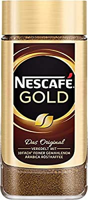6 Jars of Nescafe Gold Original Instant Coffee 7oz/200g by Nescafe