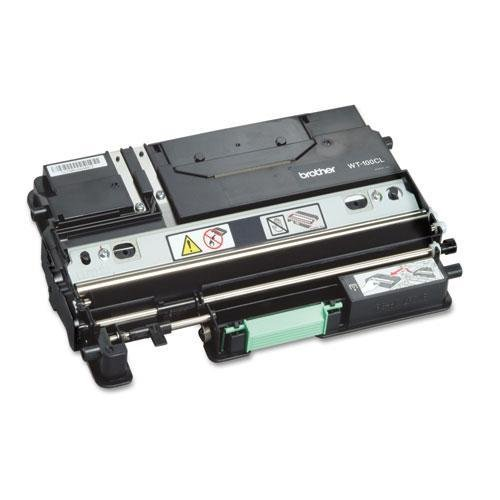 Brother WT100CL Waste Toner Box for DCP-9000, HL-4000, MFC-9000 Series, 20K Page Yield (Toner Waste Brother Wt100cl)
