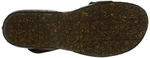 442 Creta Mujer 1 Abiertos Para Marrón Zapatos Art 1fd5wCqw