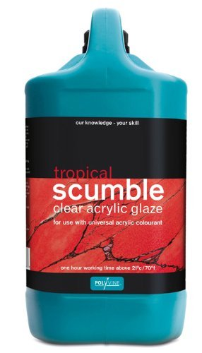 Polyvine Tropical Scumble Glaze Gallon by Polyvine