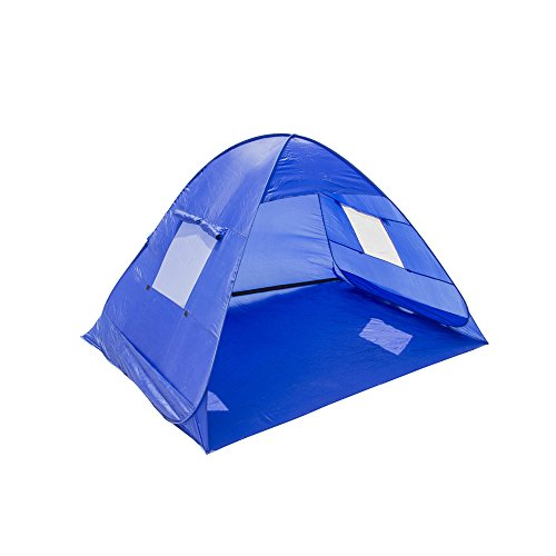 Plixio Pop Up Instant Beach Tent Shelter for Babies, Kids or Adults with Carrying Bag UV Protection Cabana