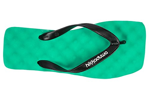 Hikkaduwa Mujer Zapatillas Sandalias Chanclas EN Goma Nuevo Dune Verde