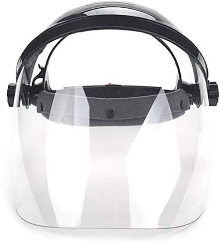Villago Welding Mask Transparent Anti-splash Electric Protection Mask Welder Full Face Shockproof Mask-Black