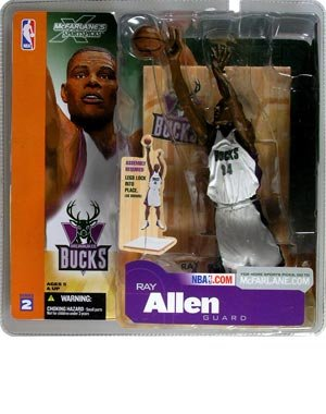 McFarlane Toys NBA Sports Picks Series 16 (2009 Wave 1) Action Figure Ray Allen (Boston Celtics) by Elite Sports