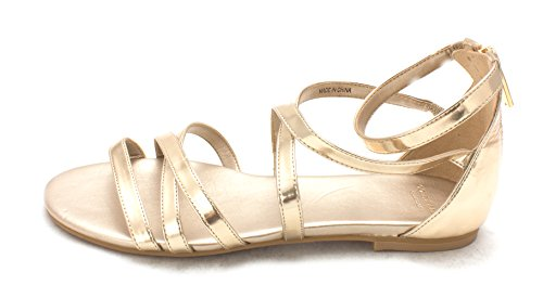 Cole Gold Open Casual Toe Sandals 14A4110P Strappy Soft Womens Haan 6wzq6B