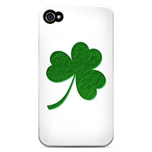 Simple Clover - Geeks Designer Line Holiday Series Hard Case for Apple iPhone 4/4S