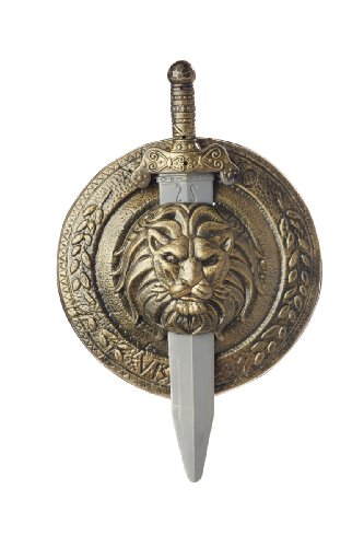 Gladiator Costumes Accessories (California Costumes Men's Gladiator Combat Shield & Sword 12