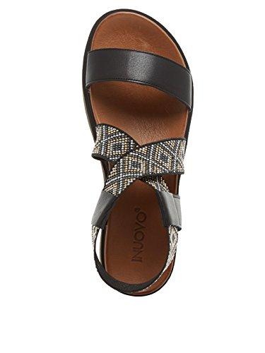 INUOVO 7280 Sandalia Mujer negro