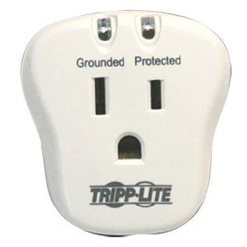 Tripp Lite SPIKECUBE 1 Outlet Surge Suppressor Receptacles: 1 x NEMA 5-15R - 750J