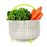 SagaHome Steamer Basket | Stainless Steel Instant Pot Accessory,...