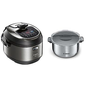 Bosch MUC88B68ES AutoCook + Olla extra - Robot de cocina multifunción, 1200 W, 5L