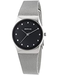 BERING Time 12927-002 Womens Classic Collection Watch with Mesh Band and scratch resistant sapphire crystal. Designed...
