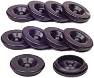 Kit King USA 10 Pack Grease Plugs Fits 1.98 Inch Hub Dust Cap Fits Most 2,000-3,500 Pound Axles Dexter 85-1 AL