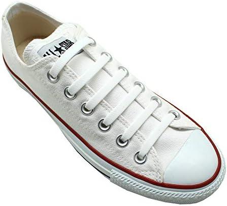 結ばない靴紐 靴ひも スニーカー シリコン シューレス シューアクセサリー (ホワイト(SPT-01))