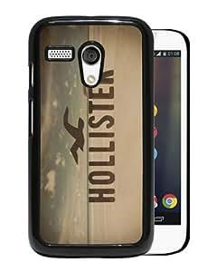 Hollister 10 Black Motorola Moto G Case Unique And Durable Custom Designed High Quality Motorola Moto G Phone Case