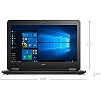 Dell Latitude E7270 12.5 Inch Business Ultrabook Intel Core 6th Generation i7-6600U 8GB DDR4 256GB Solid State Drive Webcam WiFi+BT Windows 10 Professional
