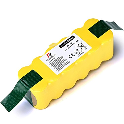 TOPHINON 3000mAh 14.4V Ni-MH Battery for iRobot Roomba 500 510 520 530 532 535 540 545 550 552 555 560 562 570 580 581 582 585 595 600 610 620 630 631 650 660 700 760 770 780 790 800 870 880 R3 by TOPHINON