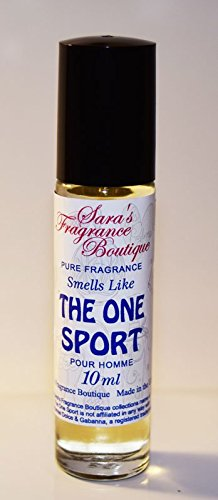 Sara's Fragrance Boutique Designer Oil Impression Of The One Sport For Men, 0.33 oz *Free Name Brand Sample-Vials With Every Order*