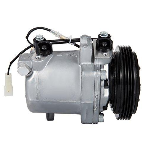 (Happybuy CO 10620C 99000990887CH Universal air conditioner Ac Compressor & Clutch for Suzuki Grand Vitara Esteem)